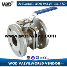 2-PC DIN Flange Ball Valve