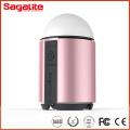 RGB y blanco luz impermeable banco de energía recargable con linterna de emergencia LED