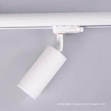 3 Phase 4 Wire Aluminium Track Lamp 360 Degree Rotatable Downlight Gu10 Track light