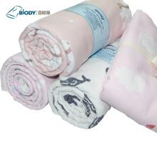 Хлопковое мягкое детское пуховое одеяло из муслина