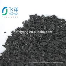 Carbón activado granulado para la purificación del agua