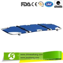 Light-Weighted Aluminiumlegierung Medical Stretcher mit zuverlässiger Qualität