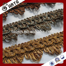 2016 Stock Product Big Bargain for Curtain Accessories of Decorative Curtain Gimp Fringe