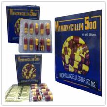 Amoxicillin antibakterielle Kapseln