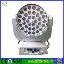 professional rgbw zoom 36x10w 4in1 led moving head wash light