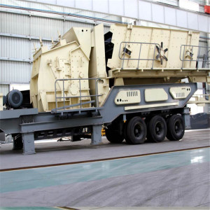 Używane Mobile Impact Crusher In Cement Plant