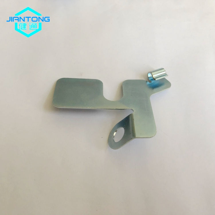 Custom Sheet Metal Stamping Zinc Plated Stamped Parts
