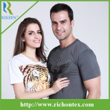 Cotton Single Jersey Custom Designer Printing T-Shirt with Good Quality