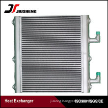 Bar And Plate Excavator Oil Cooler For Volvo EC55