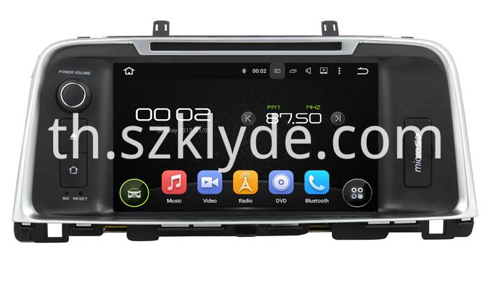 KIA K5OPTIMA 2015 ANDROID CAR DVD
