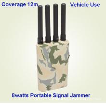 WiFi Powerful Cellphone/GPS/4G Signal Jammer, Mobile Phone Signal Jammer/Signal Blocker