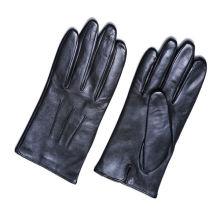 El cuero genuino con clase de los cabritos embroma los guantes para el vestido