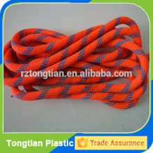 Colored Braided Polyester Rope with steel core
