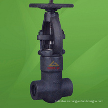 Válvula de compuerta de sello de presión de acero compacta de 2500 lb (GAZ41H)