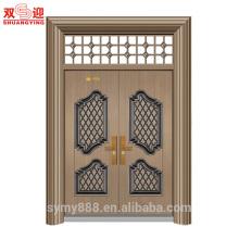 China fornecedor de qualidade uso exterior bi dobrável pátio portas portas principais projetos