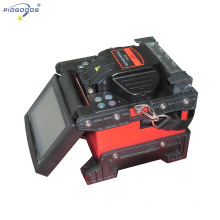 PG-FS12 Optical Fiber Fusion Splicer /fiber Optic Splicing Machine With Fiber Cleaver colorful screen China whole sale