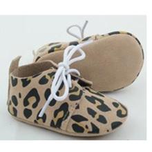 Vente en gros bébé nouveau-né véritable cuir décontracté berce chaussures oxford