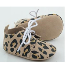 wholesale newborn baby genuine leather casual crib oxford shoes
