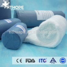 papier bleu emballage rouleau absorbant de coton hydrophile