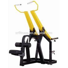 China wholesale/ plate loaded Iso-lateral Front Pulldown machine /gym equipment names