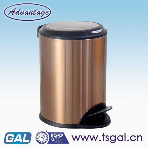 Fashionable Design Round Pedal Bin