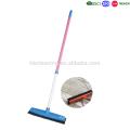 telescopic handle rubber broom, indoor sweeping floor broom