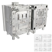 customized service precision injecting pieces electrical switch mold china plastic injection mould making