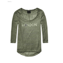 Women′s 3/4 Sleeve T-Shirt