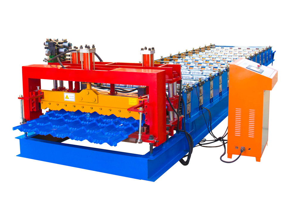 Blue Glazed Tile Sheet Roll Forming Machine