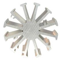Perfis de extrusão de alumínio de alta precisão