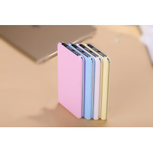 10000mAh LED lighting Power bank pink color