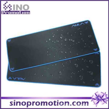 Non-Slip Rubber Base Large Waterproof Mousepad (blue Edge)