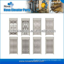 Standard Hairline Stainless Steel Elevator Door Panel,Lift Components