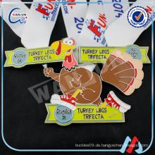 Truthahn Beine trifecta Ente Spielzeug benutzerdefinierte Medaille