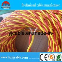 2 * 1,5 мм ПВХ витой кабель 1,5 мм