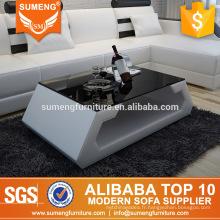 SUMENG meubles de maison moderne miroir center table de thé design