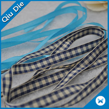 Plaid печатная лента Grosgrain Cheerleading Ribbon