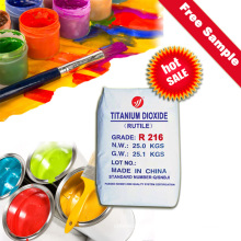 Rutil Titandioxid R216 mit guten optischen Eigenschaften und hervorragenden Pigmenteigenschaften