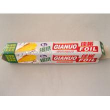 papel de aluminio, empaques para envasado de alimentos