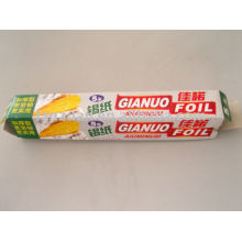 aluminium foil packaging for food wrapping