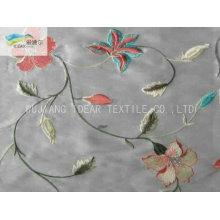 300T Embroidered Polyester Taffeta Fabric For Upholstery