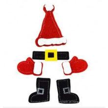 presente e artesanato para crianças adesivos de Natal DIY