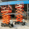 Semi Electric hydraulic Scissor Lift,with exteral power 220V or 380V