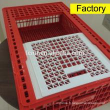 Cage de transport de volaille en plastique de volaille à vendre.