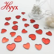 HYYX Holiday Gift Handicraft 2018 Nuevo confeti de mesa de diamante acrílico