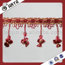 China 2015 Drapes Decoration Fringe Trimming Trims For Bed Sheets