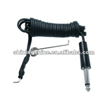 2016 hot sale tattoo supplier tattoo machine footswitch clip cord