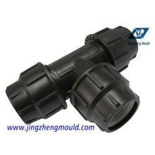 Einspritzung pp. 90 Grad-T-Stück Form- / Formteil-Hersteller
