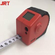 2 en 1 mini mesure numérique laser ruban rouge