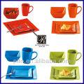 color glazed ceramic dinner set manufacturer